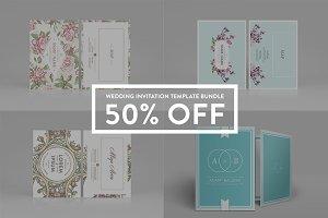 Wedding Invitation - Bundle 50% off