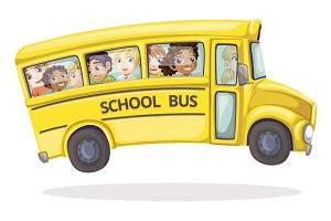 Jumpy school bus