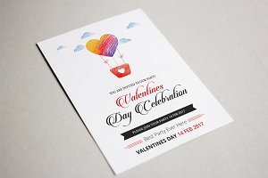 Valentines Party Flyer-V475