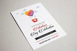 Valentines Party Flyer-V475