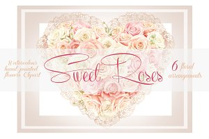 Sweet Roses - Flowers arrangements