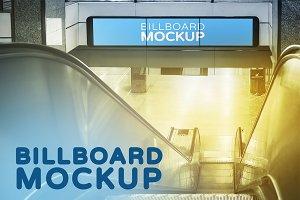 Mockup in Subway Train Station #14
