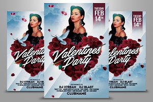 Valentines Party Flyer