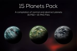 Planets Pack 4