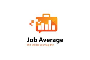 Job Average Logo Template