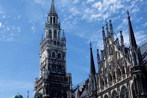Clock Tower MarienPlatz