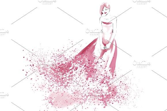 Watercolor Fashion Illustration