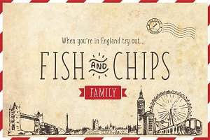 Fish & Chips family