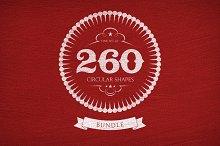 260 Circular Shapes - Vector-Bundle