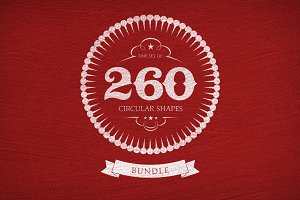 260 Circular Shapes - Vector-Bundle