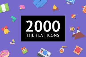 The Flat Icons 2000