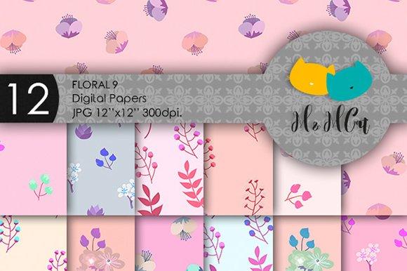 Floral Patterns Bundle