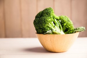 Broccoli in a bowl