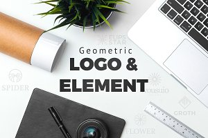 Geometric Logo & Element ( 50% off )