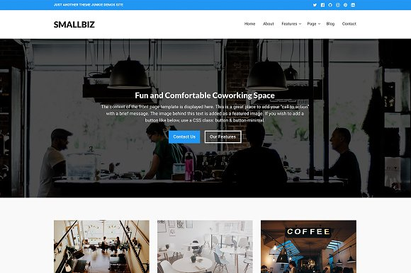 Smallbiz WordPress Theme