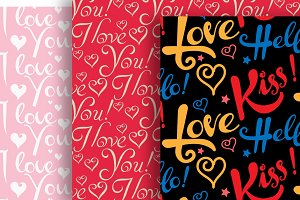 Valentine's Day Set patterns