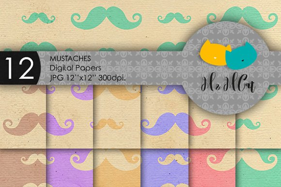 Mustaches Patterns