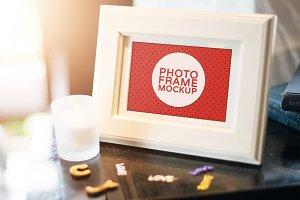 Styled Photo Frame Mock-ups