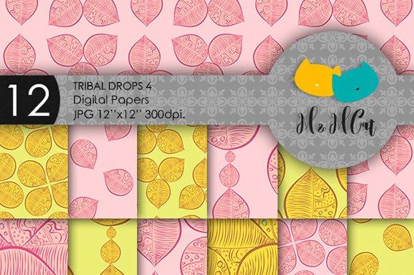 Tribal Drops Patterns