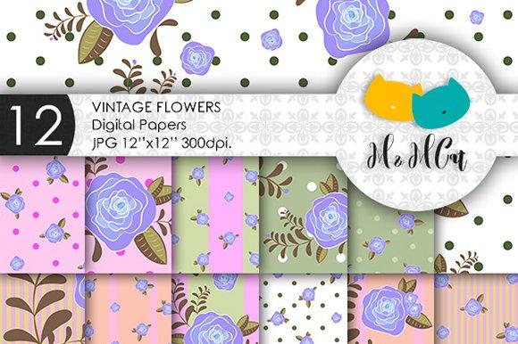 Vintage Flowers Patterns
