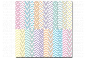 24Chevron Digital Papers Pack