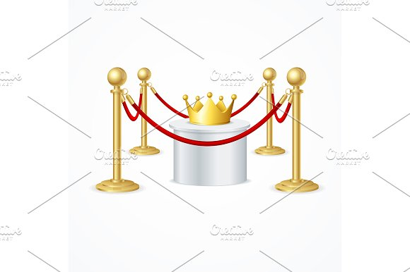 Crown And Rope Barrier