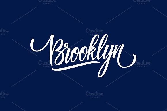 Handwritten Word Brooklyn