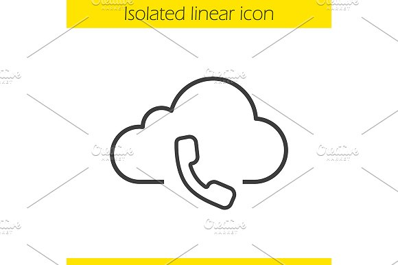 Cloud Computing Icon Vector