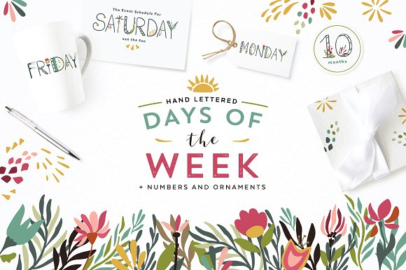 Darling Days Of The Week