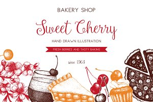 Sweet Cherry Designs Set