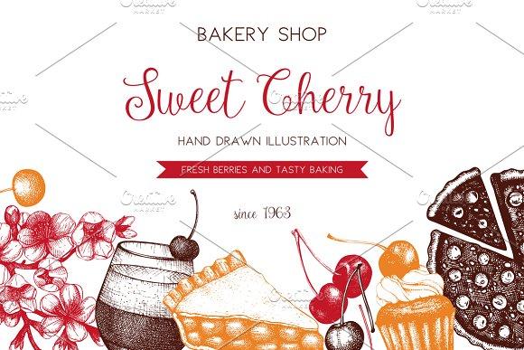 Sweet Cherry Designs Set