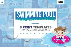 Swimming Pool Templates Pack