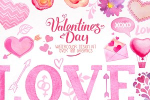 Valentine Day Design Kit