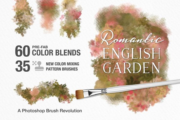 Romantic English Garden PS Brushes