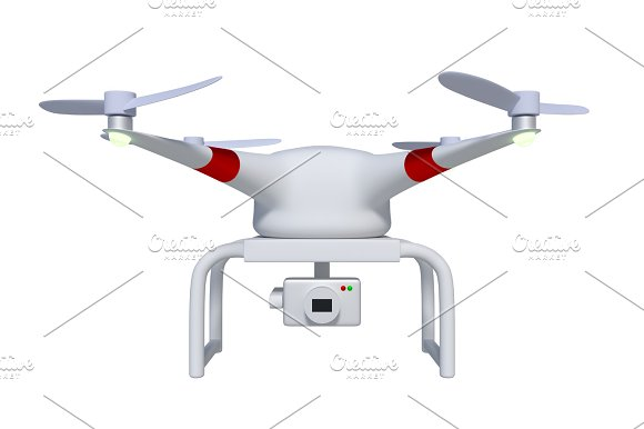 Drone Front View