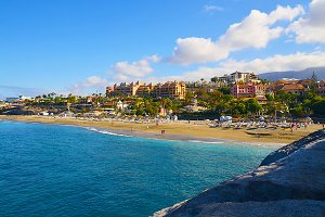 El Duque beach,Tenerife.