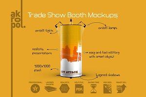 4 Trade Show Mockups