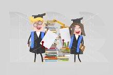Couple Graduate Students