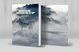 Book Mockup Hardcover