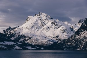 Snowy Mountains and Water #05