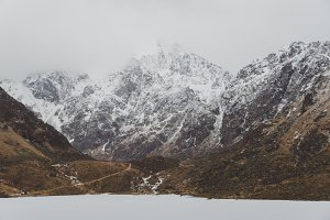 Snowy Mountains and Water #10