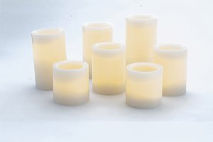 Relaxing aromatic candles