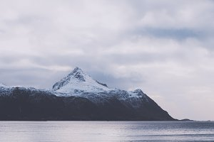 Snowy Mountains and Water #13