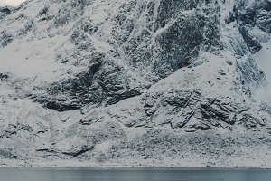 Snowy Mountains and Water #18