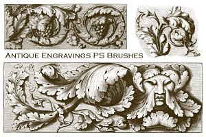 Antique Engravings PS Brushes