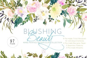 Blushing Beauty - Floral Collection