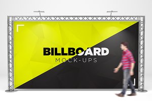 Billboard Trade Exhibition Mock-Up