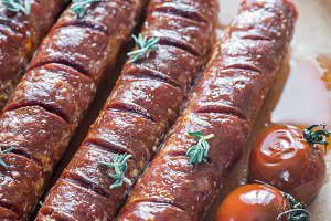 Roasted chorizo