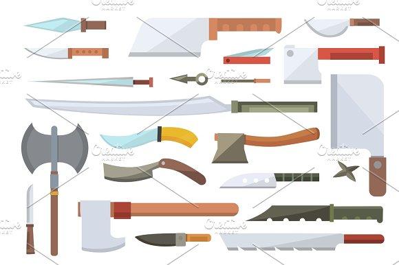 Knifes Vector Illustration