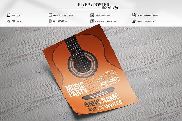 Download Flyer / Poster Mock-Up